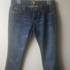 for all mankind Women's Bootcut size 27 # 111